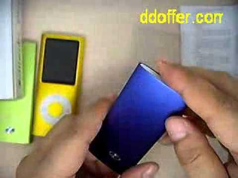 1.8 inch Lcd Screen Slim 4TH GEN NANO MP3 M4 Player 8GB