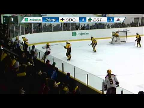 Jeux du Québec 2015 - Hockey Féminin - Finale d'or CDQ c. EST - 3 mars