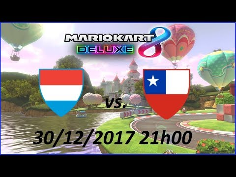 [Mario Kart 8 Deluxe] Luxembourg vs. Chile