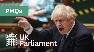 Prime Minister's Questions (PMQs) - 26 May 2021