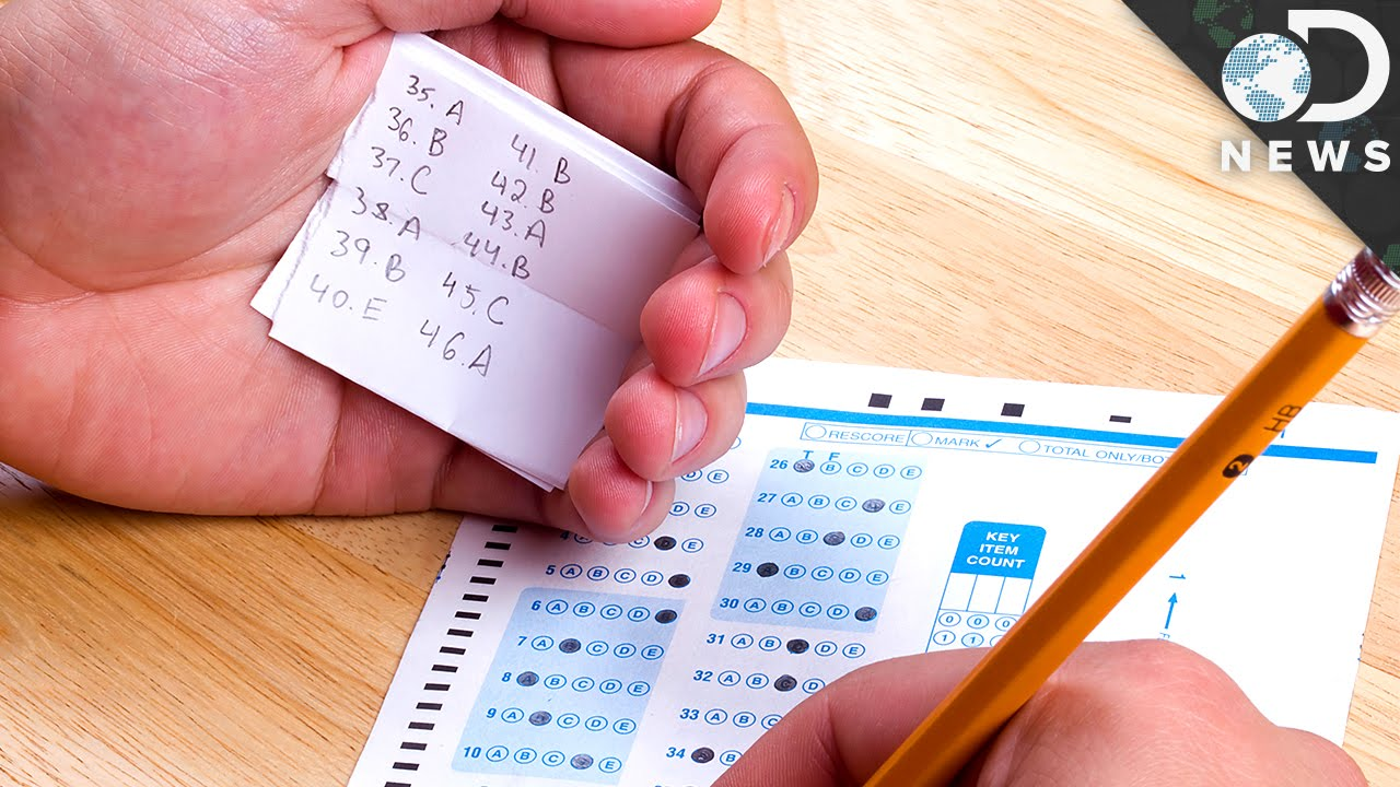 how to get away with cheating on a test