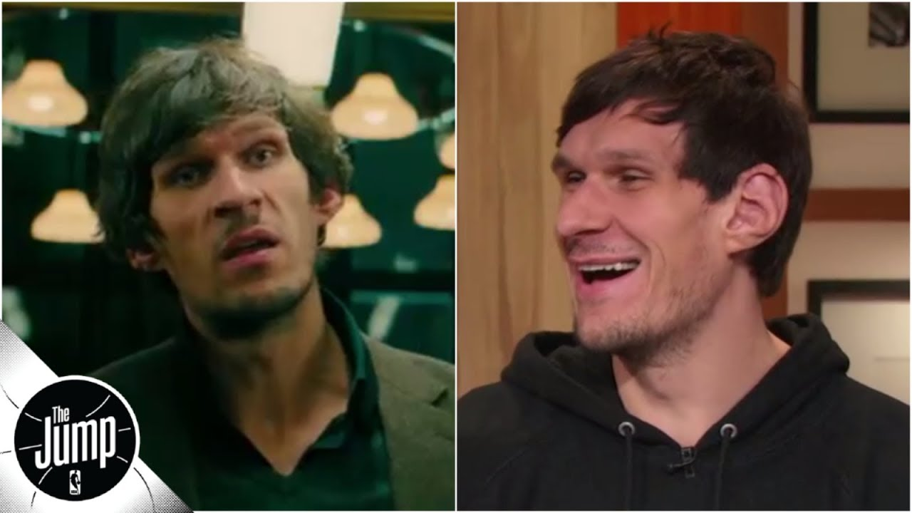Boban Marjanovic debuts 'John Wick 3' clip, says NBA 'has good actors' due to flopping | The Jump