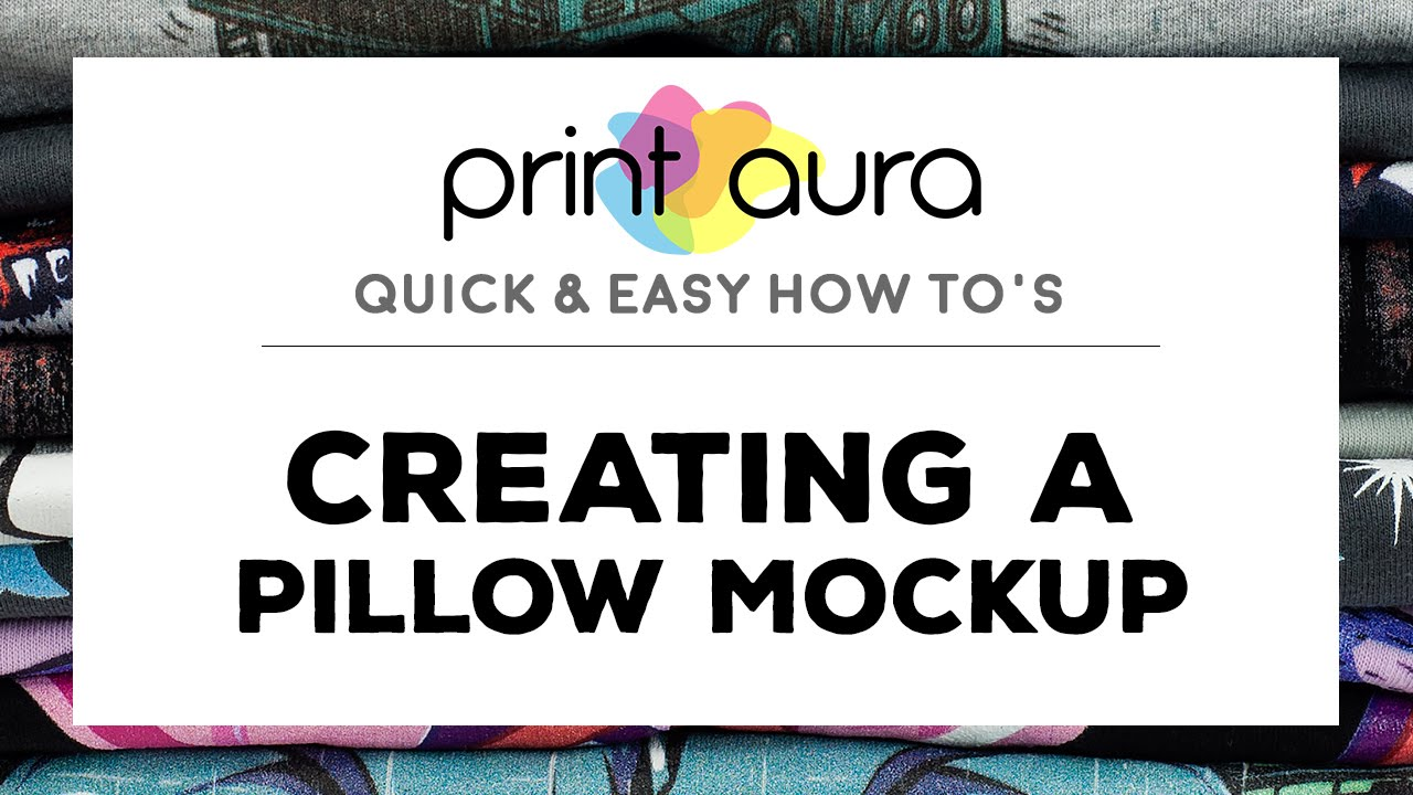 How to make a pillow mockup in Photoshop