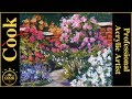 Secret Garden in Acrylics with Ginger Cook for Beginngers