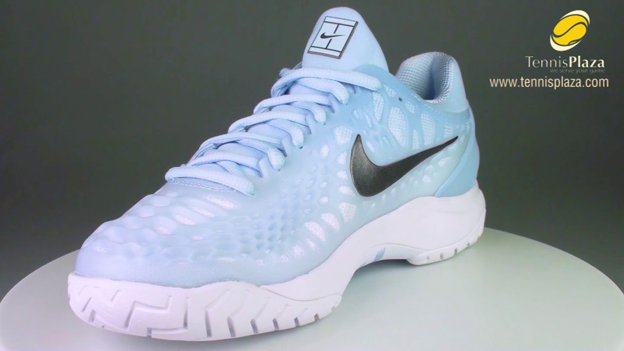buy popular a7932 f35c3 Nike Zoom Cage 3 Tennis Shoes 3D View   Tennis Plaza Review