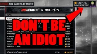 STOP WASTING VC , DONT BE AN IDIOT LIKE EVERYONE ELSE !! HOW I BECAME A VC MILLIONAIRE NBA 2K17