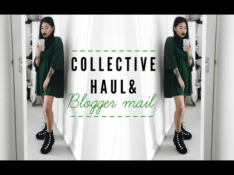 COLLECTIVE HAUL + BLOGGER MAIL | IDRESSMYSELFF