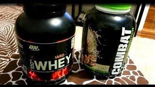 MUSCLE PHARM  VS OPTIMUM NUTRITION PROTEIN BATTLE