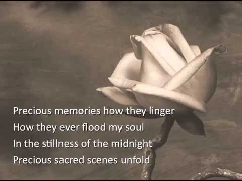 Precious Memories ~ Slim Whitman ~ lyric video