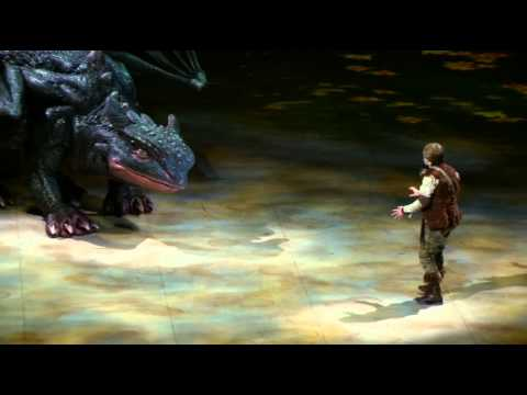 How to Train Your Dragon Live Spectacular Show Clips