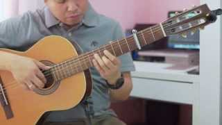 A Time for Us (Love Theme from Romeo & Juliet) - Nino Rota (solo guitar cover)