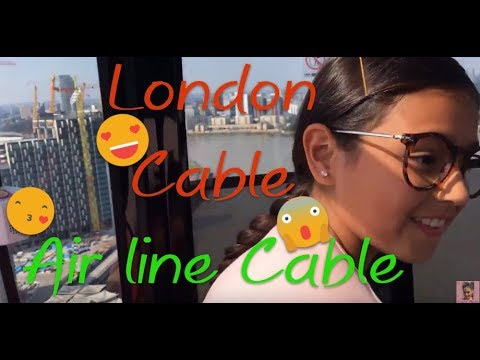 LONDON CABLE CAR - EMIRATES AIR LINE CABLE CAR - I Am Bela