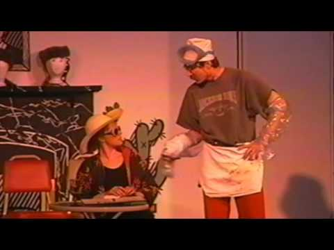 Cod Piece Dining Room Comedy Sketch - 1980s Wyoming