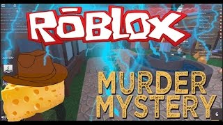 CHEESE THE SHERIFF!! Roblox Murder Mystery 2 English!