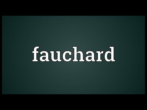 Header of fauchard