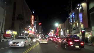 Hollywood Boulevard at Night [60fps]