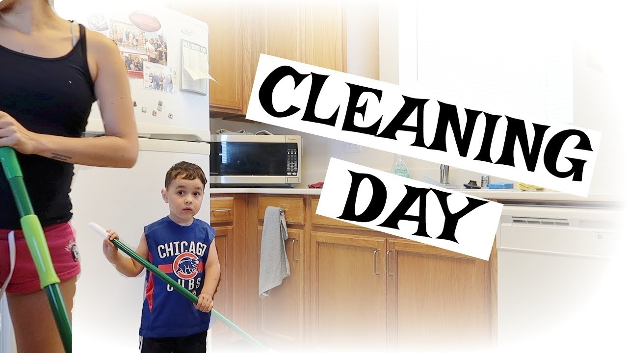 cleaning my house.. with a toddler! - youtube