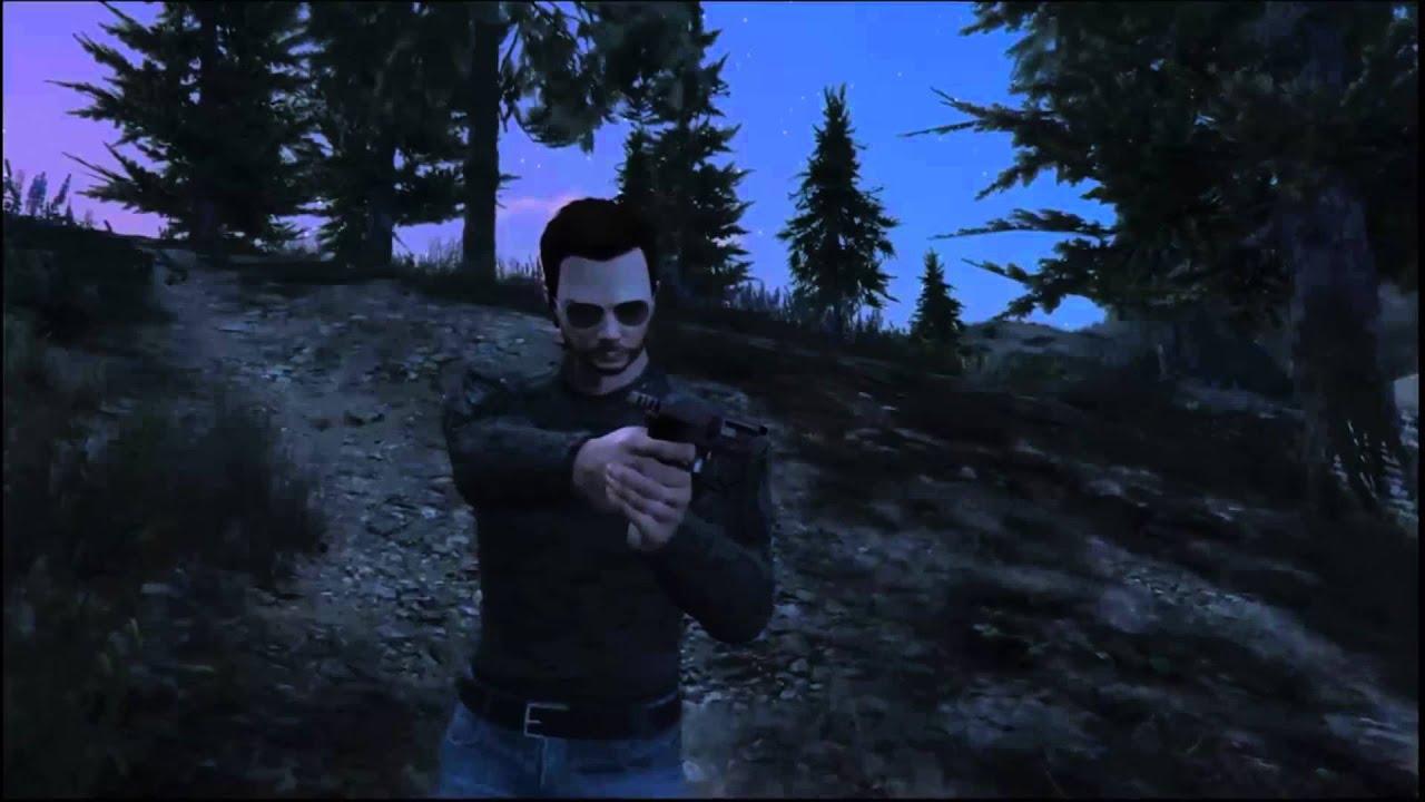 GTA V Online - Überlebe im Wald