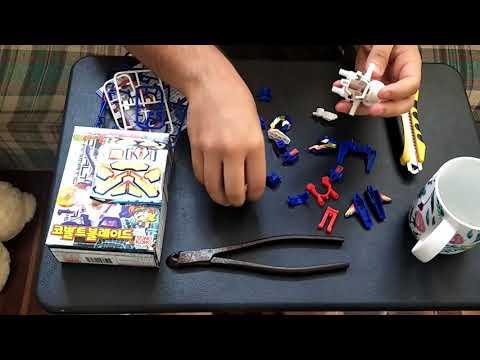 Lets Build Battle Battle B-Daman Cobalt Blade!!