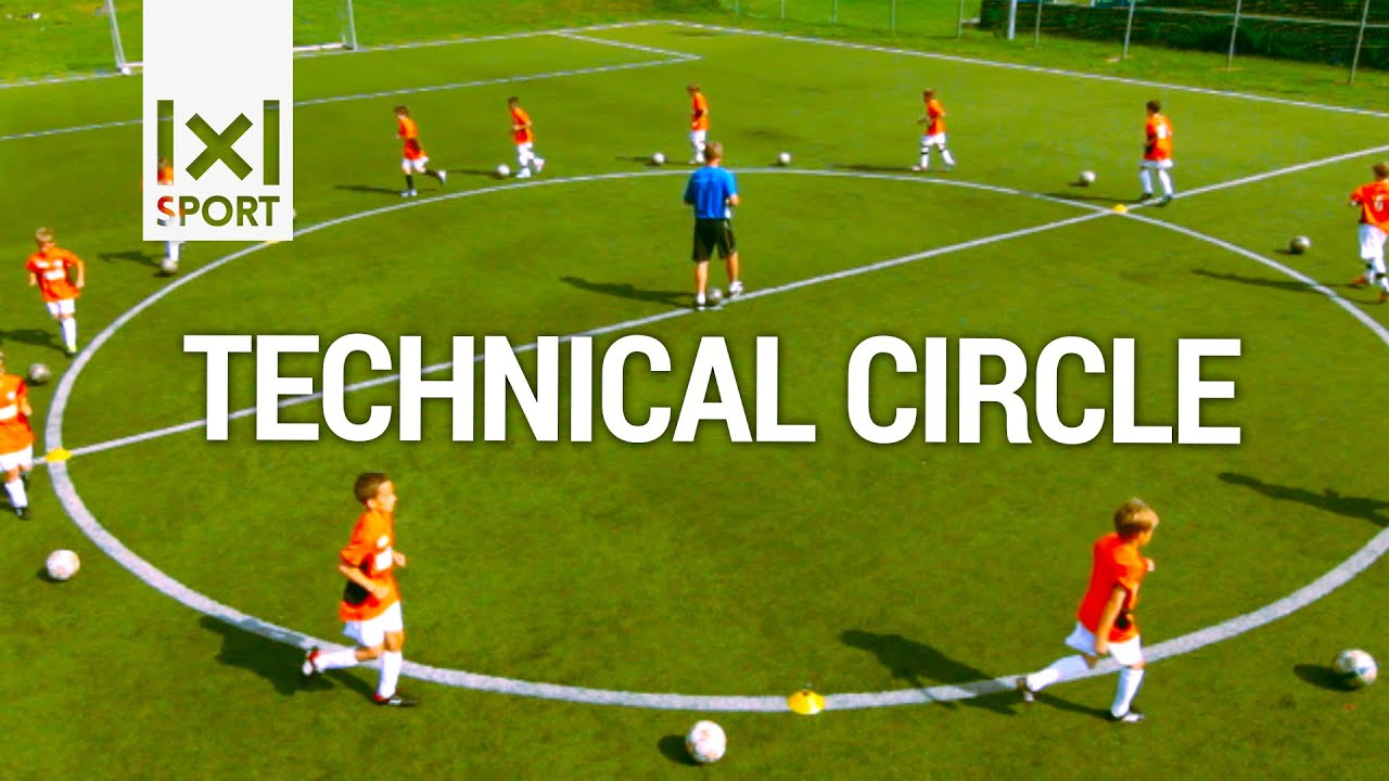⚽ Technical Circle Creative Football Soccer Activity for Kids