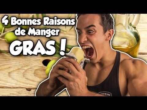 4 BONNES RAISONS DE MANGER GRAS !