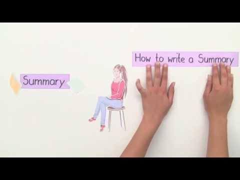 Wie Schreibt Man Eine Summary Englisch Textarbeit Youtube