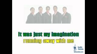 The Temptations - Just My Imagination (Karaoke Instrumental) w/ Lyrics