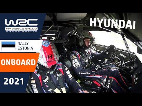 ON-BOARD Hyundai i20 WRC at WRC Rally Estonia 2021
