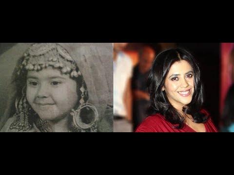 Childhood Pictures Of Ekta Kapoor