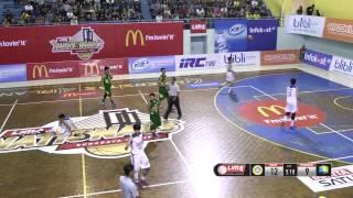 LIMA Basket Nasional 2015 : UNAIR vs PERBANAS (Q1)