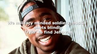 Tupac ft. Scarface Smile (Lyrics)