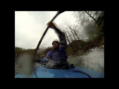 San Miguel Slalom Kayaking Session