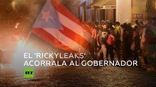 Crece la presión para que renuncie el gobernador de Puerto Rico