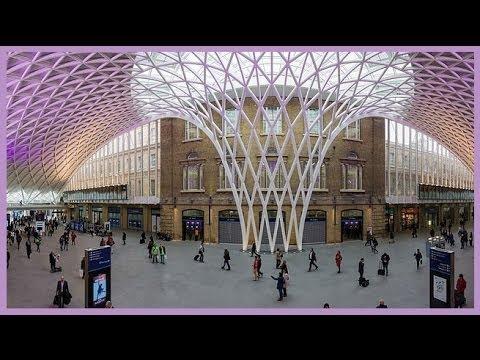 Amazing London King's Cross Railway Station