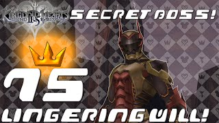 Kingdom Hearts HD 2.5 ReMIX - Secret Boss - Lingering Will (KH2 FM Ep. 75 True Finale)