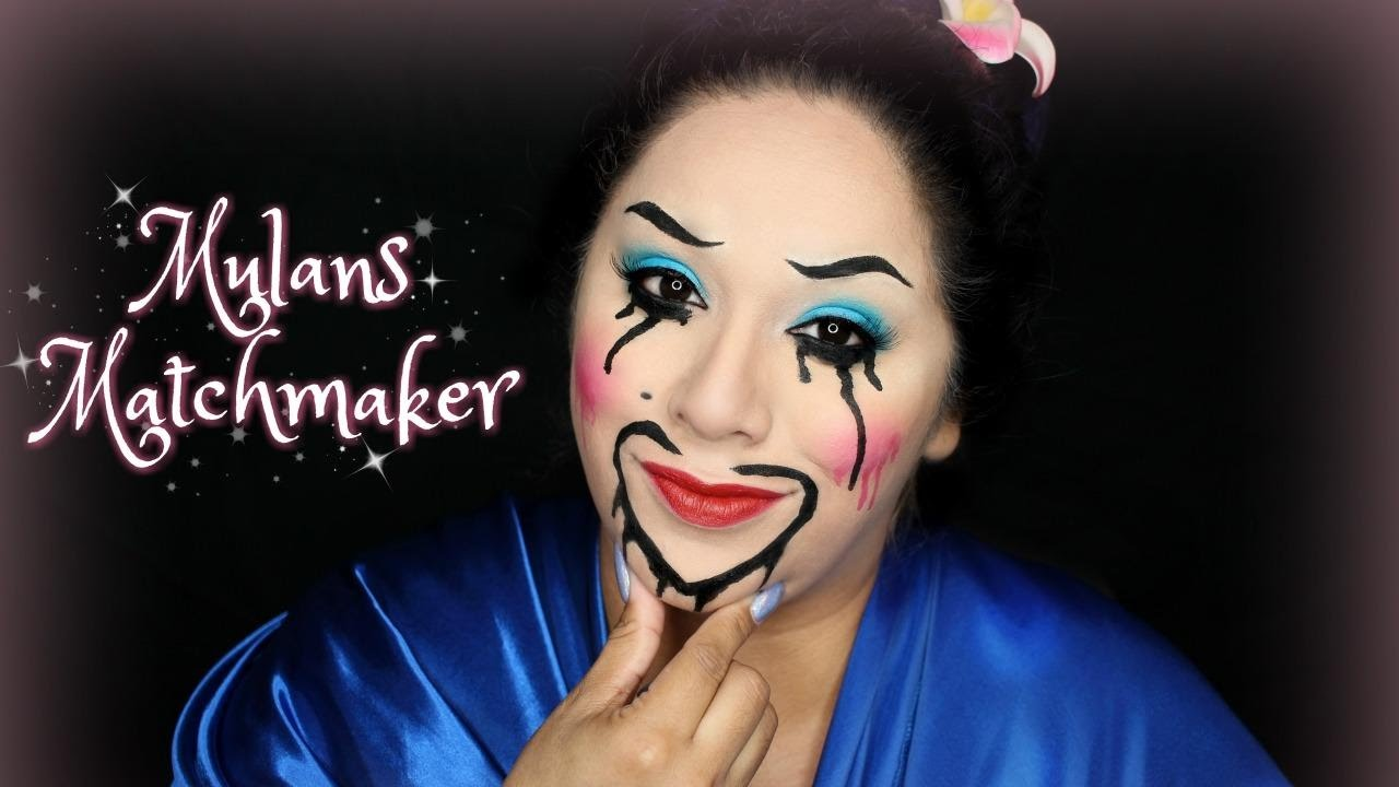 Mulans Matchmaker Halloween Makeup Youtube