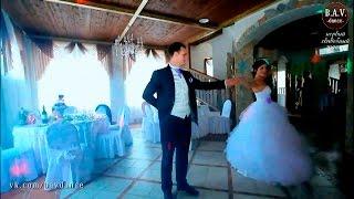 Самый шикарный свадебный танец с поддержками!