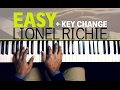 watch he video of Easy Like Sunday Morning - Lionel Richie - Piano tutorial + change of Key