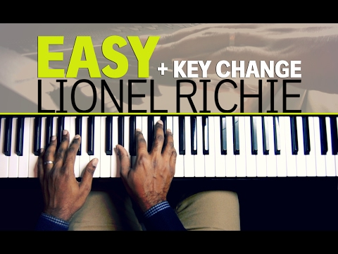 Easy Like Sunday Morning - Lionel Richie - Piano tutorial + change of Key
