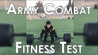 DID YOU MAX THE ARMY COMBAT FITNESS TEST?