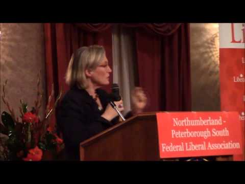 MP Carolyn Bennett Speaks To Local Liberals At Red Leaf Dinner