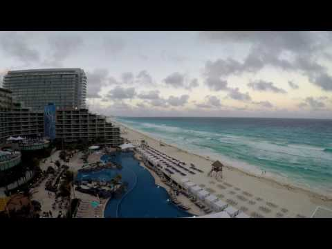 Hard Rock Hotel Cancun Mexico (Timelapse Video)
