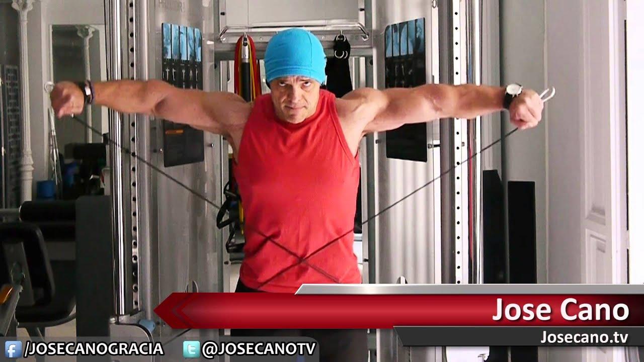 elevacion lateral hombro maquina