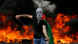 Palestinians clash with Israeli troops in Ramallah, West Bank