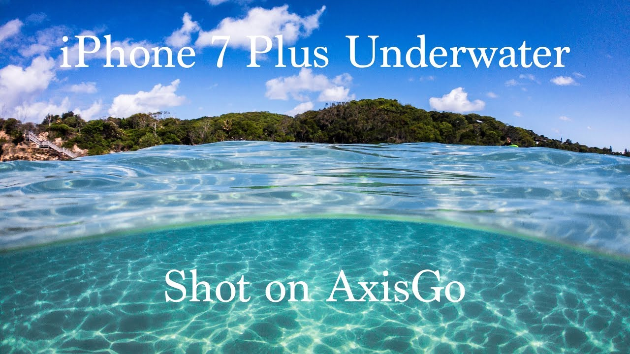 low priced e6f36 fad19 How well does an iPhone shoot video underwater? - iPhone 7 Plus