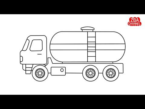 Cara Menggambar Truk Umplung Tutorial Menggambar Youtube
