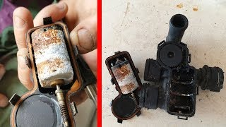 Why the Heater Control Valve Fails on Mercedes / How to disassemble Heater Control Valve W211, CLS