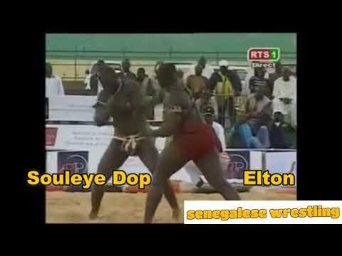 Senegalese Wrestling : Elton vs Souleye Dop