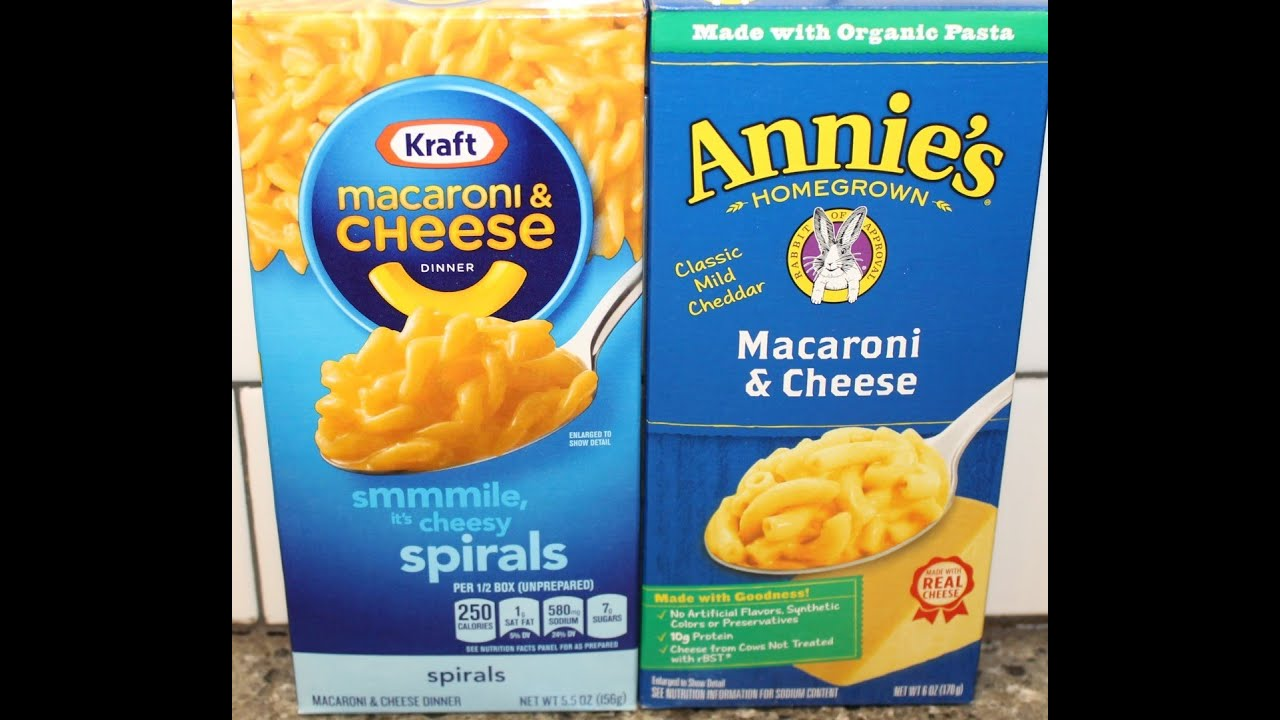 kraft macaroni and cheese vs generic Nutrition facts and information for kraft macaroni and cheese dinner original  flavor, unprepared.