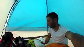 Debriefing sous la tente soir d'orages - CANADALASKA Thumbnail